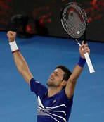 Avustralya Açık'ta Djokovic çeyrek finalde