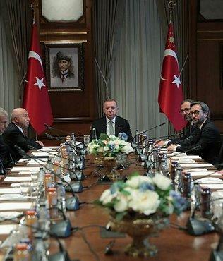 Başkan Erdoğan TFF Yönetim Kurulu'nu kabul etti