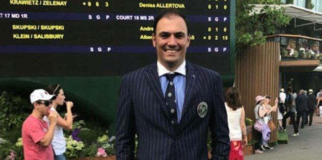 Wimbledon'da Türk hakem