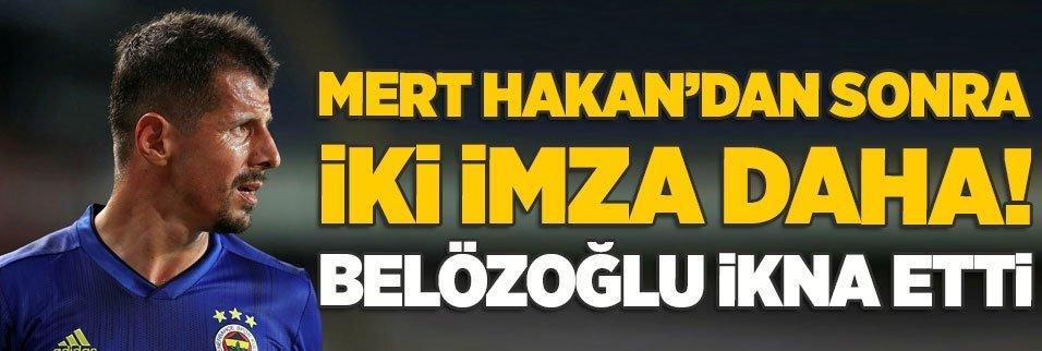 mert hakandan sonra 2 imza daha emre belozoglu ikna etti 1596668006863 - Son dakika: Mert Hakan Yandaş resmen Fenerbahçe'de!