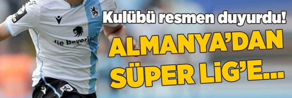 Transfer duyuruldu! Almanya'dan Süper Lig'e geliyor