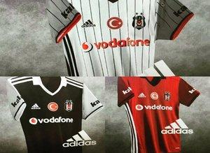 Beşiktaşın 2016/17 sezonu formaları