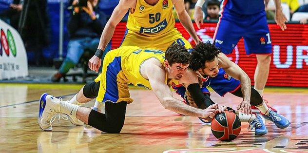 Maccabi FOX 77 - 75 Anadolu Efes | ÖZET İZLEYİN
