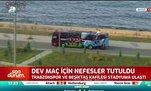 Trabzonspor kafilesi stadyuma ulaştı