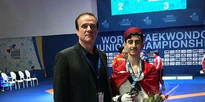 Görkem Polat ve Emine Göğebakan dünya ikincisi oldu