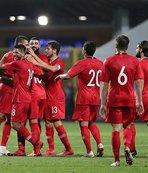 Ümit Milli Futbol Takımı farklı kazandı