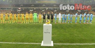BtcTurk Yeni Malatyaspor - Trabzonspor maçından dikkat çeken kareler