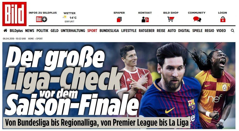 Bildden Süper Lig yorumu: İnanılmaz heyecanlı