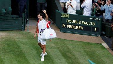 Son dakika tenis haberleri | Roger Federer Wimbledon'a veda etti!