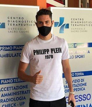 Mert Çetin Verona için sağlık kontrolünde!