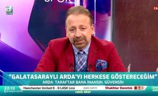 """""""Fatih Terim'in sahadaki oyun aklı Arda Turan olacak"""""""