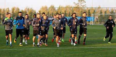 Konyaspor'da Antalyaspor maçı hazırlıkları