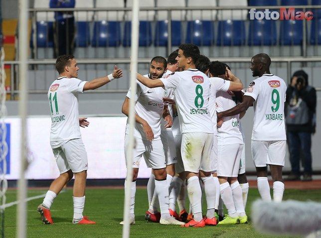 Kasımpaşa - Konyaspor maçından kareler...