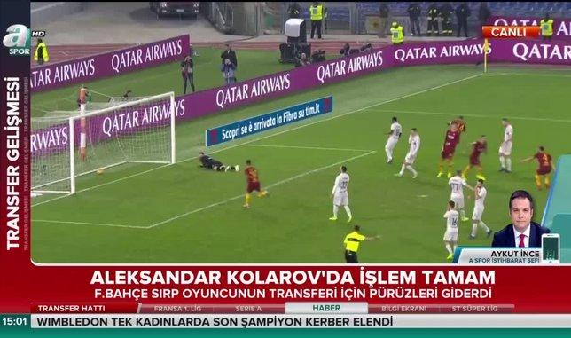 Fenerbahçe Kolarov'u bitirdi
