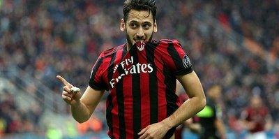 Hakan gol attı, Milan kazandı!