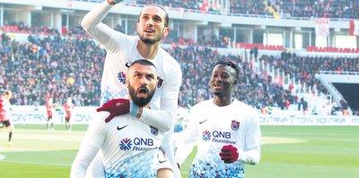 Trabzon coştu