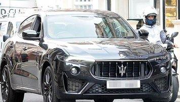 Romeo Beckham'ın arabası dikkat çekti!