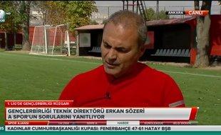 """Erkan Sözeri: """"Gençlerbirliği Süper Lig'i hakediyor"""""""
