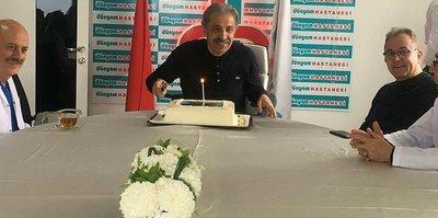 Başkan Bedir'e doğum günü sürprizi!