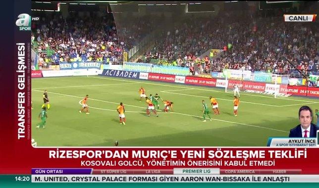 Vedat Muriç sözleşme teklifini reddetti!