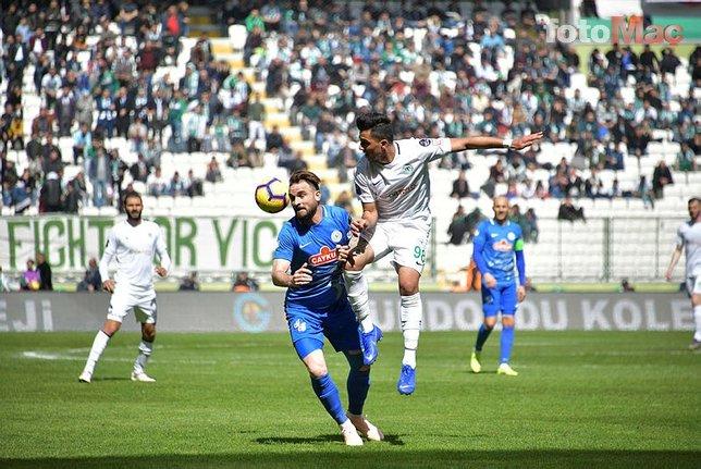 Atiker Konyaspor - Çaykur Rizespor maçından kareler...
