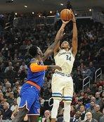 NBA'de Milwaukee Bucks'tan peş peşe 12. galibiyet