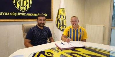 MKE Ankaragücü Lukasik transferini duyurdu! 2+1 yıllık imza