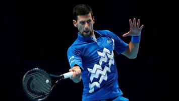 Djokovic ATP Finalleri'ne set vermeden başladı!