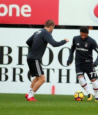 Beşiktaş, Y.Malatyaspor maçının hazırlıklarını sürdürdü
