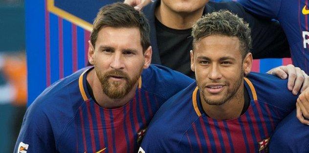 Messi'den Neymar'a veda mesajı
