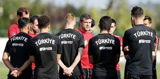 Ümit Milli Futbol Takımı hazırlıkların Türkiye etabını tamamladı