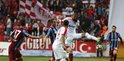 Trabzonspor ile Antalyaspor 44. randevuda