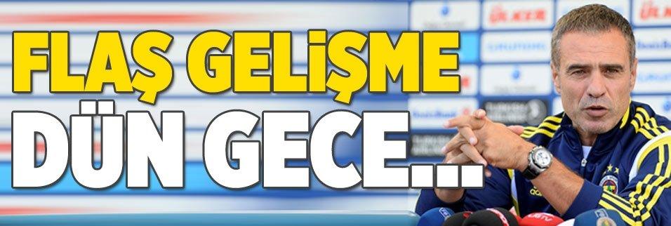 Fenerbahçe'de flaş gelişme: Dün gece...