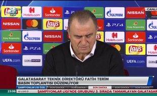 Galatasaray teknik direktörü Fatih Terim'den flaş açıklamalar