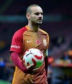 Wesley Sneijder Galatasaray'ı işaret etti