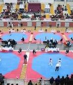 Tekvando Şampiyonası'nın heyecanı Sivas'ta yaşanıyor