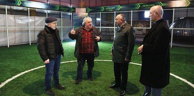 """Futbolcular """"Futbolmatik"""" sistemiyle çalışarak performansını artıracak"""