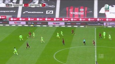 GOL | Eintracht Frankfurt 2 - 1 Wolfsburg