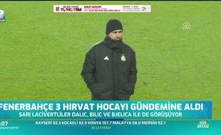 Fenerbahçe'de teknik direktör arayışları sürüyor!