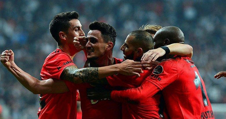Beşiktaş'ın Medipol Başakşehir karşısındaki muhtemel 11'i