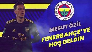 F.Bahçe efsanelerinden Mesut'a hoş geldin mesajları!