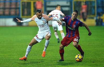 Galatasaray ile Karabükspor arasındaki şaşırtan benzerlik