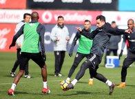 Beşiktaş, Trabzonspor hazırlıklarına başladı