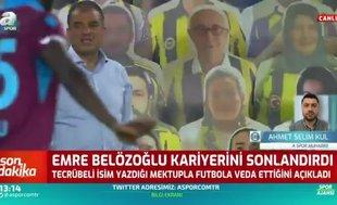Emre Belözoğlu kariyerini sonlandırdı! İşte veda mektubu
