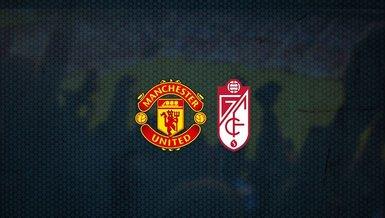 Manchester United - Granada maçı ne zaman, saat kaçta? Hangi kanalda canlı yayınlanacak? | UEFA Avrupa Ligi