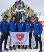 Snowkite Dünya Kupası'nda 4. etap tamamlandı