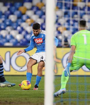 MAÇ SONUCU Napoli 1-0 Lazio