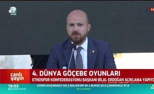 Bilal Erdoğan: Dünya Göçebe Oyunları yeni bir soluk getiriyor