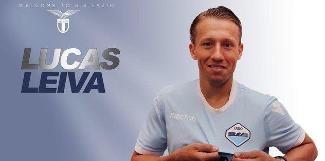 Lazio, Lucaz Leiva'yı açıkladı