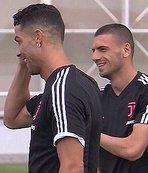 Herkes bu fotoğrafı konuşuyor! Cristiano Ronaldo'dan Merih'e...